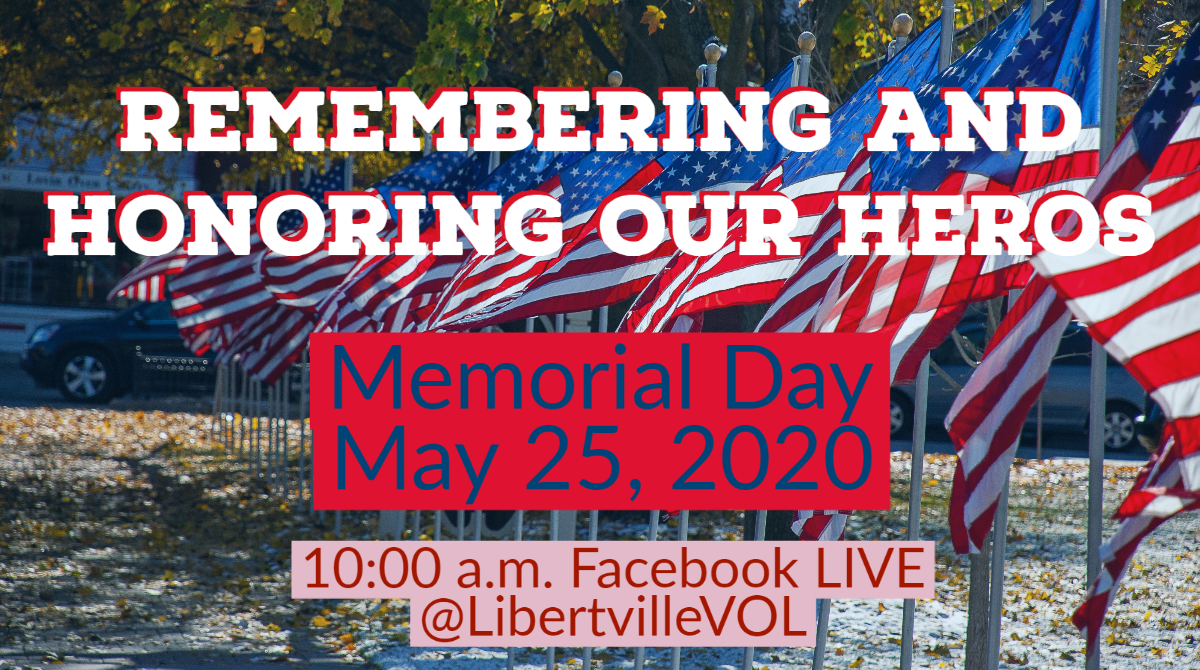 Memorial Day Virtual Ceremony