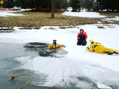 Ice Rescue Training 001