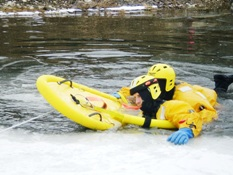 Ice Rescue Training 006