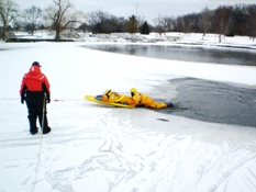 Ice Rescue Training 013